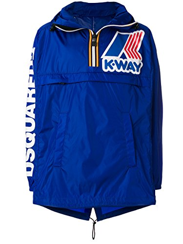 DSQUARED X K-WAY Homme S71am0913s48730520 Bleu Polyamide d'occasion  Livré partout en Belgique