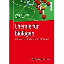 Chemie für Biologen: Von Studierenden für Studierende erklärt