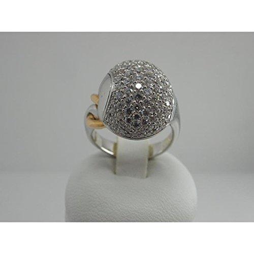 Anello Chimento PASSIONE 1A05992BB714014.0_0 Oro Diamante taglia 14.0