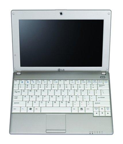 LG X110-L.A7SBG 25,4 cm (10,0 Zoll) WSVGA Netbook (Intel Atom N270 1,6GHz, 1GB RAM, 160GB HDD, Intel GMA 950, Windows XP Home) weiß - Wsvga Netbook