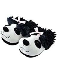 Panda Chaussons Pointure 36/40 - Aroma Home