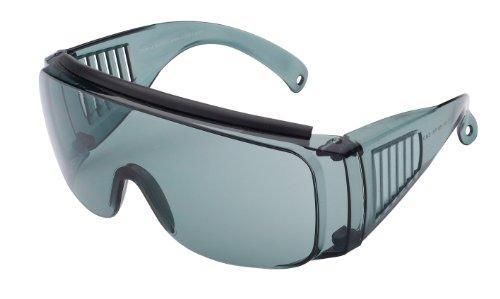 Sport Sonnenbrille Sportbrille zum Überziehen, hell grau transparent Gläser, No. 7004-9 - Brille über Brille Sport