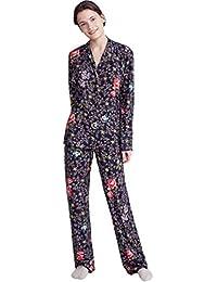 PROMISE Pijama de Mujer Abierto N06032 - Negro, L