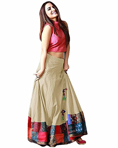 Indian Designer Bollywood Collection New Arrival Party Wear Cream Color Lehenga Choli...