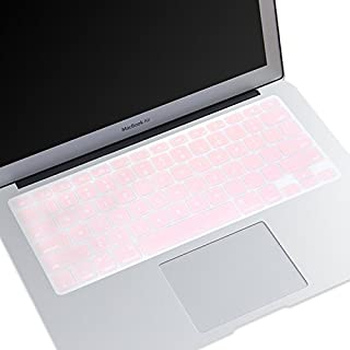 Masino Silicone Keyboard Skin Ultra Thin Keyboard Cover for US Layout MacBook Air 13