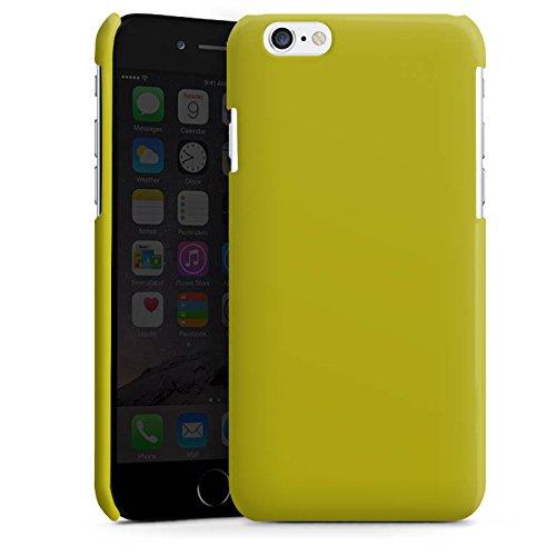 Apple iPhone 5s Housse Étui Protection Coque Olive Vert Vert Cas Premium brillant