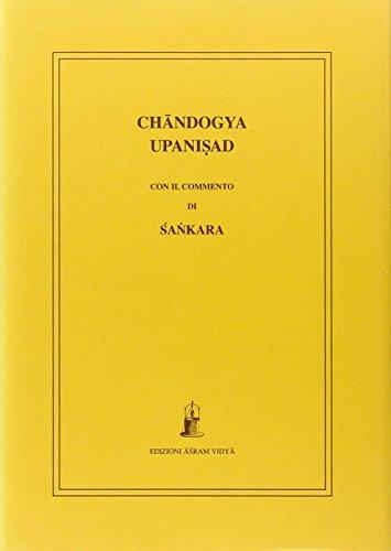 Chandogya upanisad con il commento di Sankara