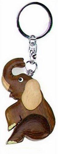 Llavero (madera), diseño de elefante