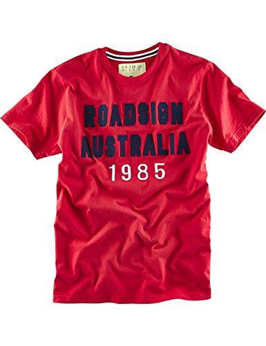 """ROADSIGN australia T-Shirt """"ROADsign Runner"""" Rot"""