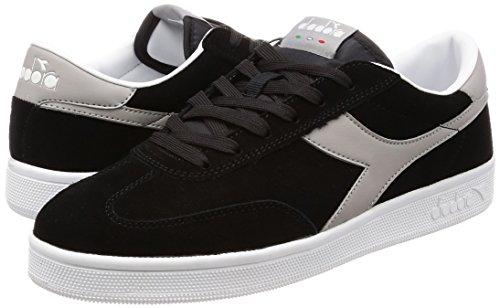 Diadora Field Sneaker Uomo Nero Nerogrigio Paloma 43 EU 9 UK Scarpe