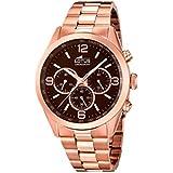 Lotus 18154/2 - Reloj de pulsera Hombre, Acero inoxidable, color Oro Rosa