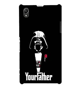 FUSON Your Father 3D Hard Polycarbonate Designer Back Case Cover for Sony Xperia Z1 :: Sony Xperia Z1 L39h :: Sony Xperia Z1 C6902/L39h :: Sony Xperia Z1 C6903 :: Sony Xperia Z1 C6906 :: Sony Xperia Z1 C6943