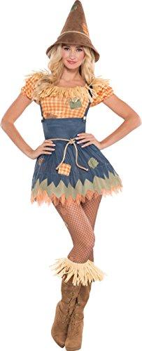 erdbeerloft - Unisex - Erwachsene Karnevalskomplettkostüm Vogelscheuche, Mehrfarbig, Größe (Mädchen Kostüm Gartenzwerg)
