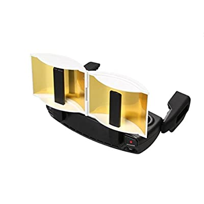 Updated Foldable Parabolic Antenna Signal Range Booster Extended Range Remote Controller FPV Signal Enhance Board for DJI Mavic Pro / Spark (Gold) from Tamlltide