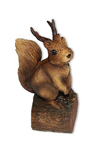 Tetrahedron Games Eichhörnchen Figur Rattatöskr auf Baumstamm Nordische Mythologie