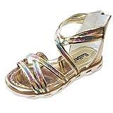 AIni Schuhe Baby,2019 Neuer Beiläufiges Mode Sale Kleinkind Kind Kleinkind Kinder Baby Mädchen Pailletten Prinzessin Strand Römer Schuhe Sandalen Kleinkinder Schuhe Krabbelschuhe (34,Gold)