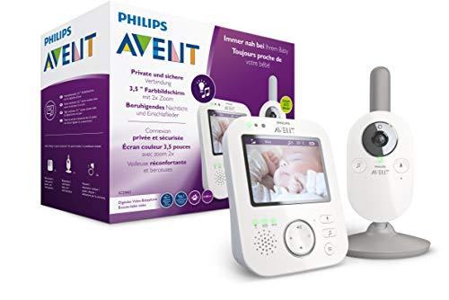 Philips AVENT SCD843/26 Téléphones vidéo Blanc