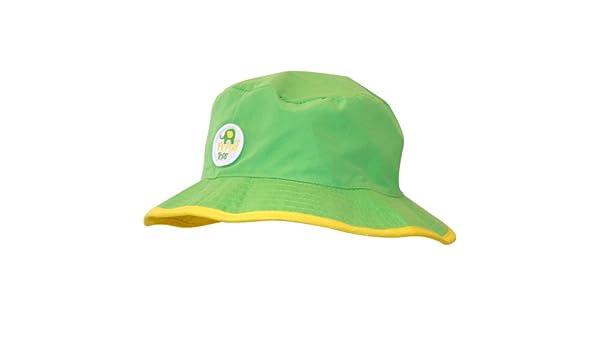 57b9518ab0f Floppy Tops Ultra Compact Reversible Sun and Rain Hat (Green Yellow)   Amazon.co.uk  Baby