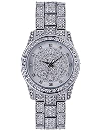 Spirit Ladies Analogue Round Silver Dial With Silver Bracelet Strap ASPL93x