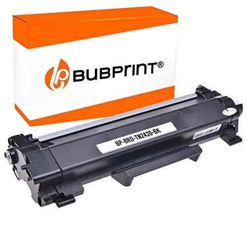 Bubprint XXL Toner 6000 Seiten kompatibel für Brother TN-2420 TN2420 für DCP-L2510D DCP-L2530DW HL-L2310D HL-L2350DW HL-L2370DN HL-L2375DW MFC-L2710DN - 2550 Toner
