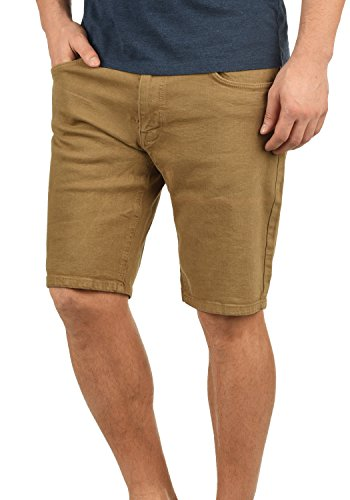 Redefinded Rebel Morton Herren Jeans Shorts Kurze Denim Hose Aus Stretch-Material Regular Fit, Größe:L, Farbe:Dark Sand (Comfort Capris)
