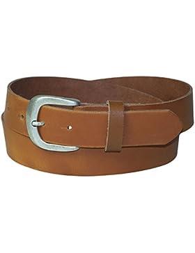 FRONHOFER cinturón para vaquero de señora, cinturón de cuero auténtico, cinturón con hebilla de plata vieja, tallas...