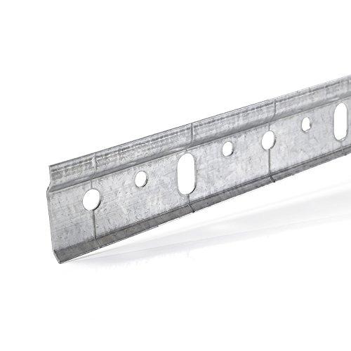 SO-TECH® Schrankaufhängeschiene Aufhängeschiene 2000 mm Schrankschiene Wandschiene f. Oberschrank