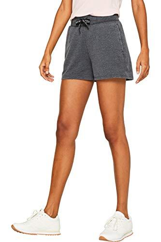 ESPRIT Sports Damen sw Shorts b.Out Sportshorts, Schwarz (Black 001), W(Herstellergröße: L)