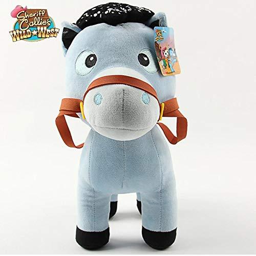 xuritaotao 1 Stücke 20 cm Film Sheriff Callies Wild West Pony Pferd Plüschtiere Weiche Kuscheltiere Spielzeug Für Kinder Kinder Geschenke (West Sheriff Wild Callies)