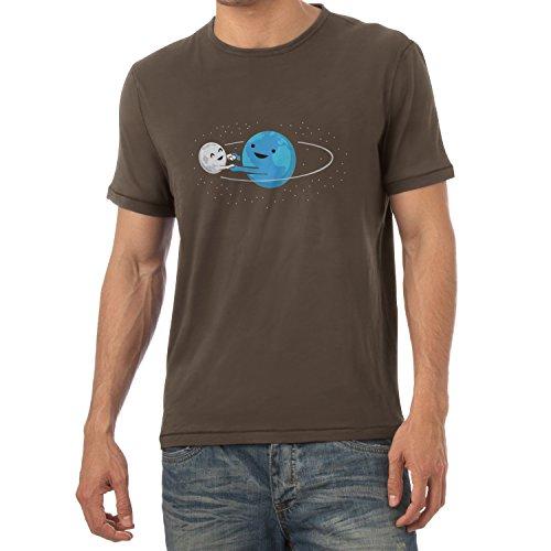 Preisvergleich Produktbild Texlab Around Me - Herren T-Shirt, Größe L, Braun