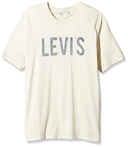 Levi's Graphic Set-in Neck 2-T-shirt  Uomo White (Chalky White)