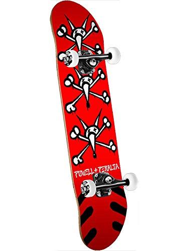 Powell Peralta Rot Fa18 Vato Rats - 7 Inch Skateboard Für Kinder Komplett (One Size, Rot) -