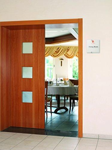 preisvergleich durable 482319 t rschild crystal sign 210 x 148 mm willbilliger. Black Bedroom Furniture Sets. Home Design Ideas