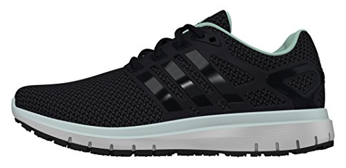 adidas Energy Cloud W, Scarpe da Corsa Unisex-Adulto Black (Neguti / Negbas / Verhie)