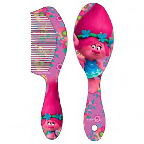 set-brosse-a-cheveux-et-peigne-poppy-les-trolls