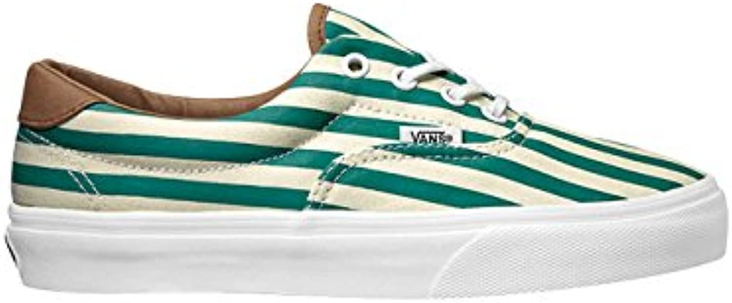 Vans Era 59 Classics Stripes Paras Black Green