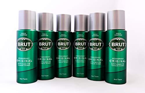 Brut Original Deodorant 6Pack; 6x 200ml Original Deodorant