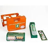 FLEXEO-Erste-Hilfe-Koffer-Set DIN 13 157 (inkl. gefülltem Salvequick Pflasterspender und Cederroth Augenspülstation) preisvergleich bei billige-tabletten.eu