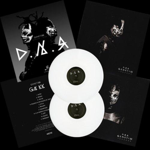 D.N.A. [2 Vinyl LP] Limited Edition, Weiss