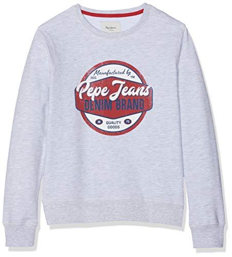 Pepe Jeans Truman Pb581073 Sudadera, ((Grey Marl 933), 6-7 (Talla del Fabricante: 116/6 años) para Niños