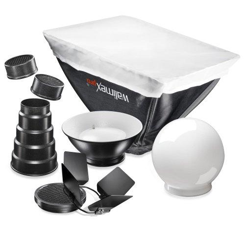 Walimex Pro Blitzvorsätze (7-teilig) für Nikon SB600/ SB800