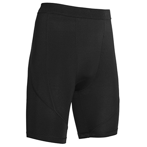i-sports Caleçon long de sport à compression Junior Unisexe -  Noir - 10 ans