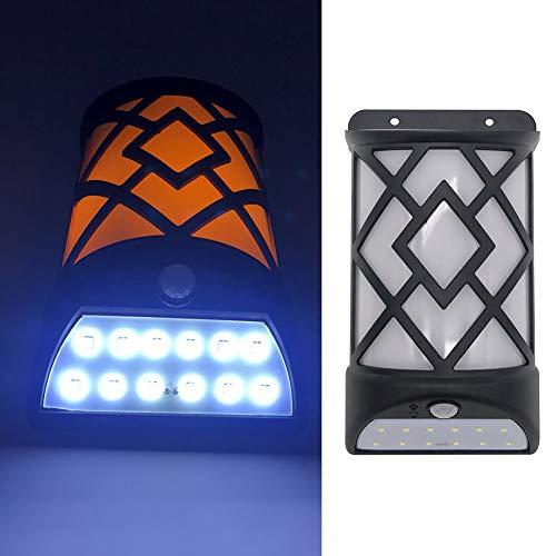 Sguan-wu Impermeable Solar LED Lámpara de Llama de inducción del Cuerpo Humano...