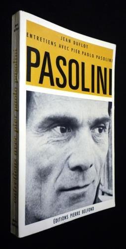 Entretiens avec Pier Paolo Pasolini