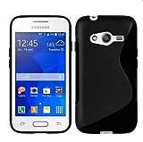 HQ-CLOUD Coque en Gel silicone S-Line S-ligne pour Samsung Galaxy Trend 2 lite...