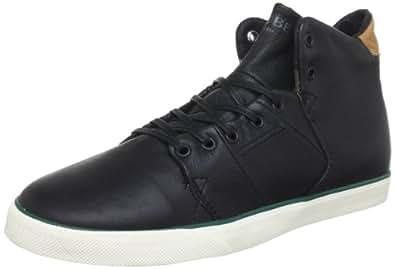 Globe Unisex - Adult Los Angered Hi-Top Sneakers Black Schwarz (black FG 10973) Size: 40