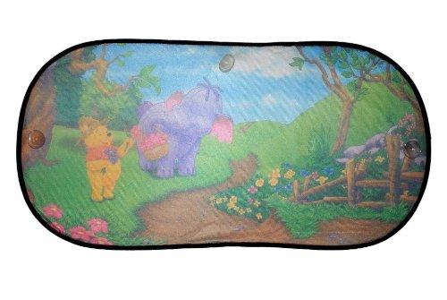 Unbekannt XL Heckscheiben Sonnenschutz Winnie The Pooh Sonnenblende Motiv Bär Tigger für Kinder Heckscheibe Heffalump