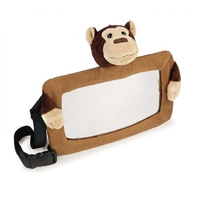 Goldbug in Car Safety View Mirror Brown Monkey by Goldbug