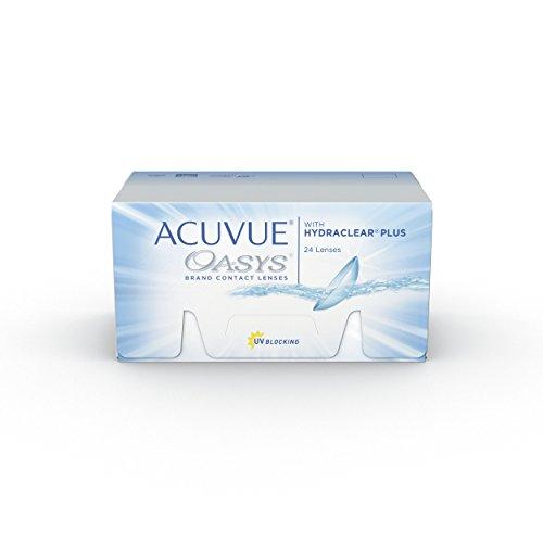 Acuvue Oasys 2-Wochenlinsen weich, 24 Stück / BC 8.4 mm / DIA 14 mm / -3.25 Dioptrien