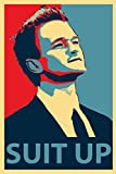 #7: Love st - Barney Stinson - Suit Up - Poster for Home and Office
